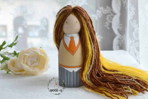 omuleti personalizati peg doll wood-u
