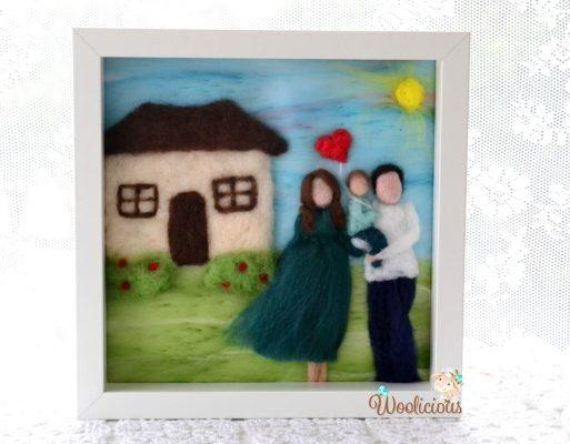 tablouri lana personalizate woolicious