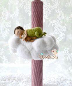 lumanari lana personalizate woolicious